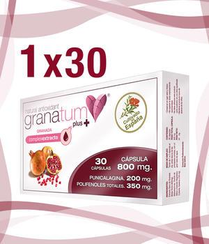 Granatäppelextrakt 30 kapslar á 833 mg