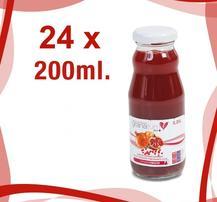 100% Färskpressad Granatäppeljuice 24-pack á 200 ml (4,8 liter)