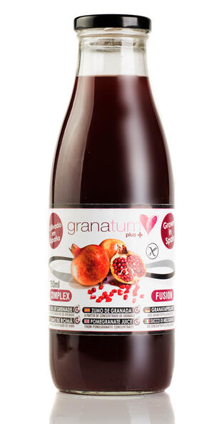 100% Granatäppeljuice 12-pack á 750 ml (9 liter)